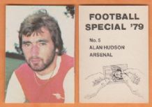 Arsenal Alan Hudson England 5